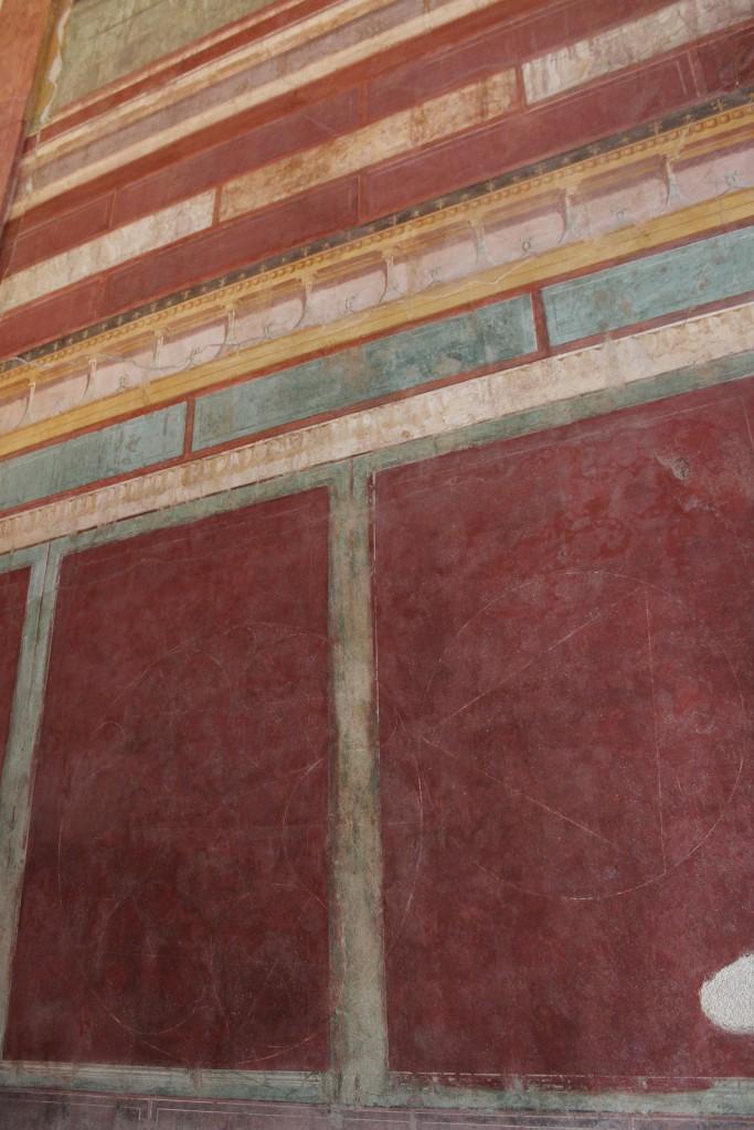 Augustuksen talo, ramppihuone, josta johti kulku Apollonin temppelille
