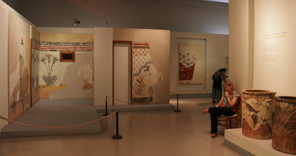 Thiran esihistoriallinen museo (Prehistoric Museum of Thira)