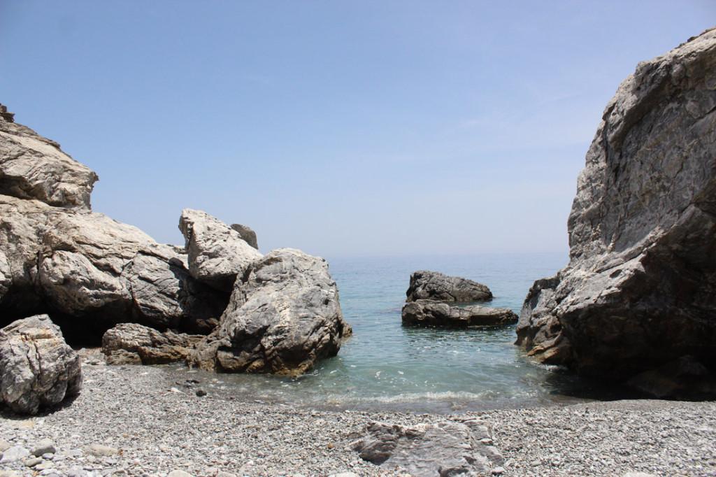 Yksityinen poukamani lähellä Agia Annan rantaa