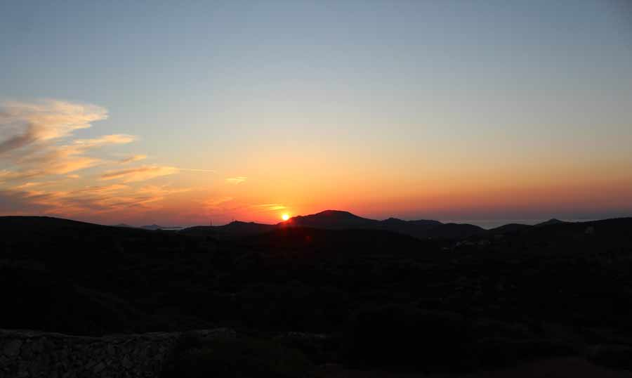 Auringonlasku Naksoksella