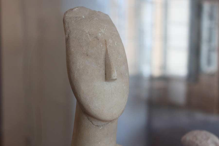 Pelkistämisen taitoa (Naksoksen arkeologinen museo)