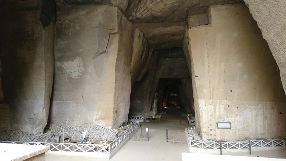Cimitero delle Fontanellen suola yleiskuvassa