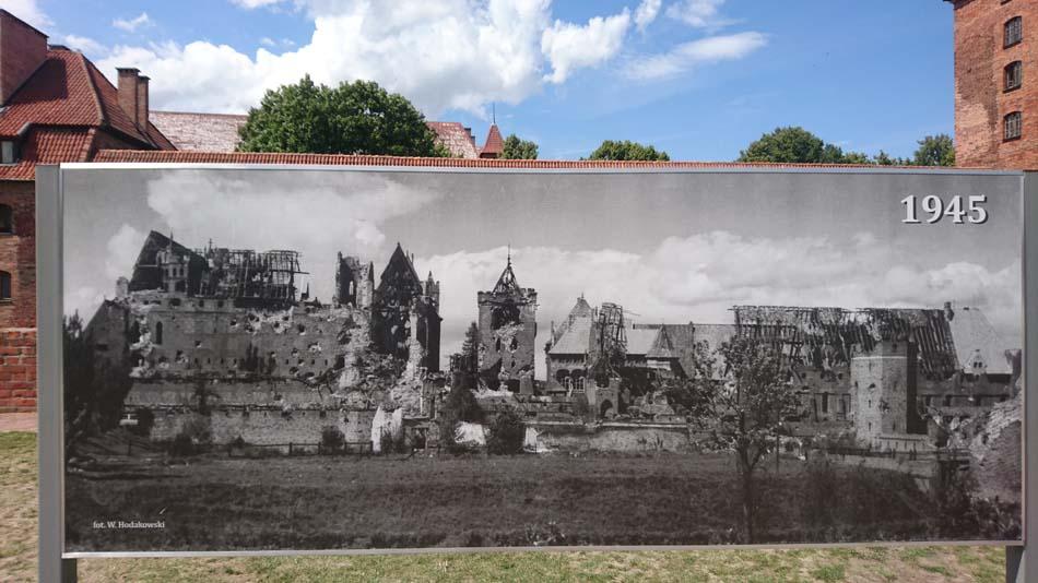 Linna toisen maailmansodan jälkeen
