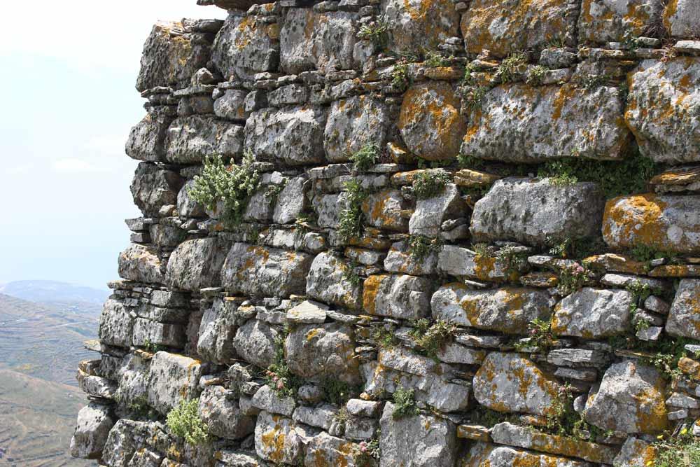 Yksityiskohta muurista
