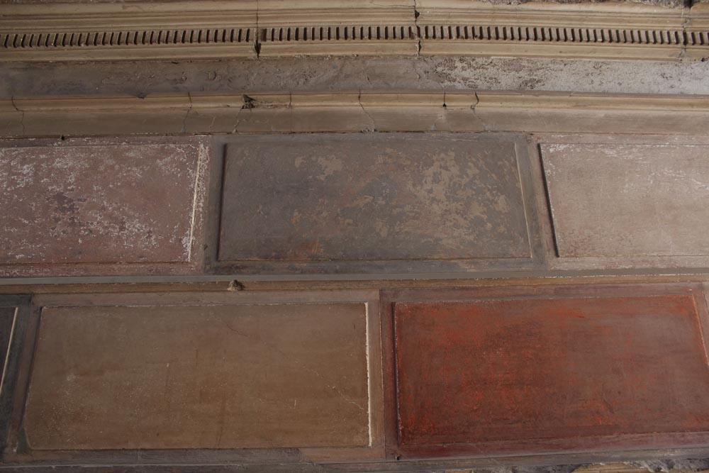 Ensimmäisen tyylin seinämaalausta.